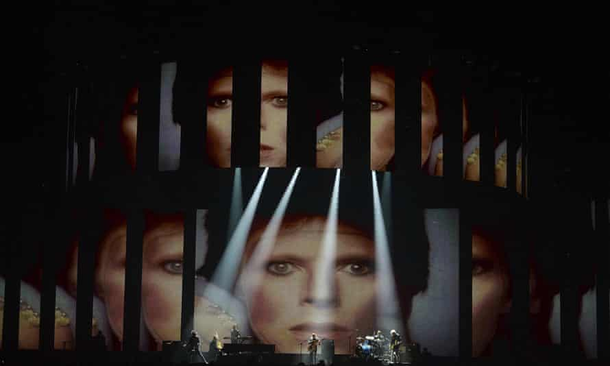 Nothing fancy or fussy … Bowie tribute.