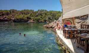 El bigotes restaurant, Cala Mastella, Sant Carles, Municipio Santa Eularia des Riu, Ibiza