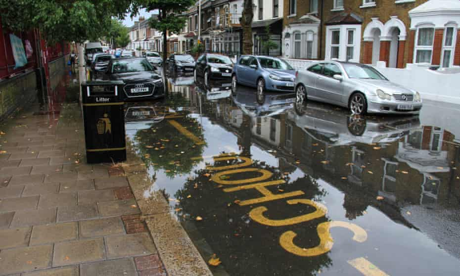 Flash floods in east London left residents unable to rescue their possessions in time as water poured in.
