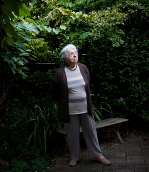 Holocaust survivor Maria Lewitt at home in Australia