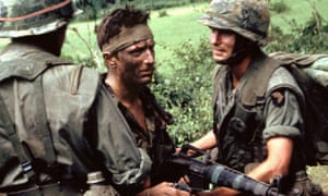 Robert De Niro, centre, in The Deer Hunter, 1978, directed by Michael Cimino. It was one of the first films to articulate the effect on the American psyche of the Vietnam war.
