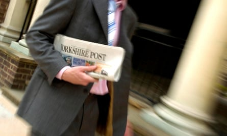 The Yorkshire Post is one of more than 200 print and online titles owned by Johnston Press.