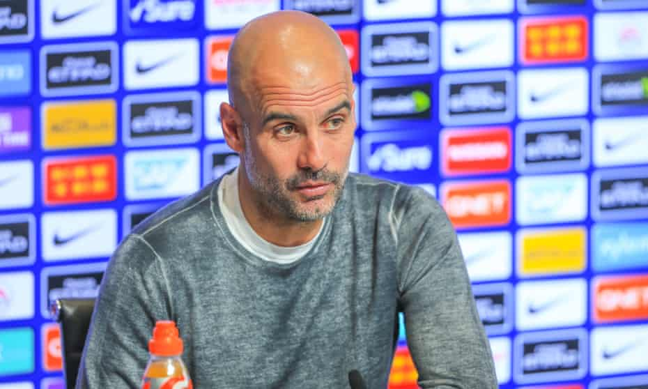 Pep Guardiola expects fierce criticism if City fall at the final hurdle.