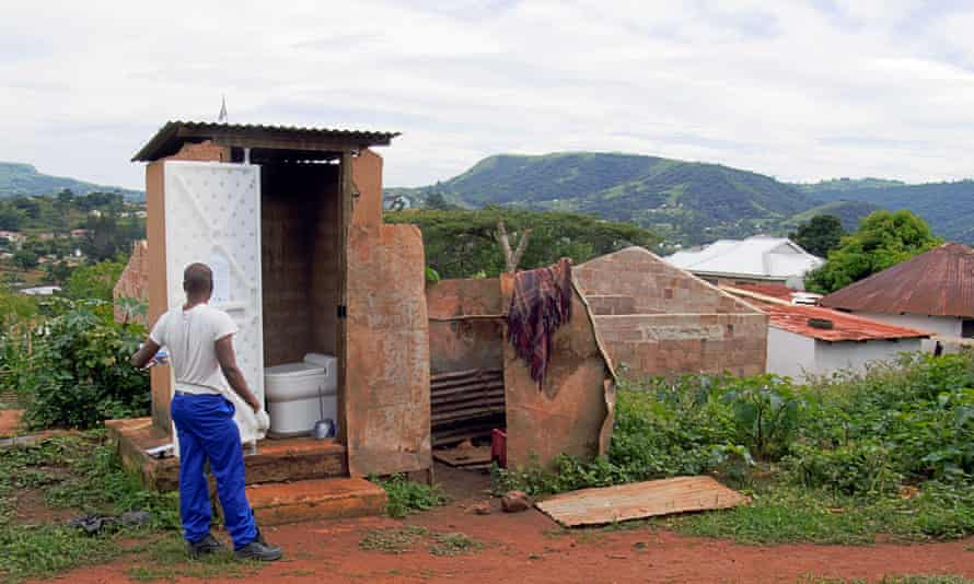 Nano membrane toilet being trialled in South Africa.