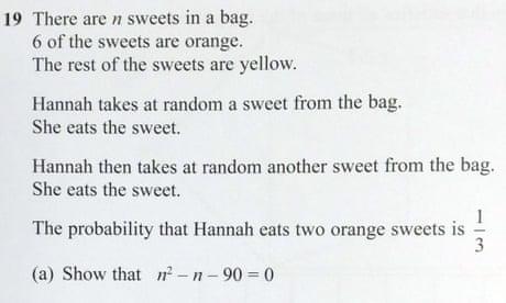 Student protest against 'unfair' GCSE maths question goes viral