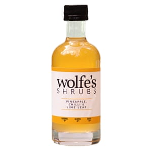 Wolfe's Pineapple Chilli and Lime Leaf Shrub