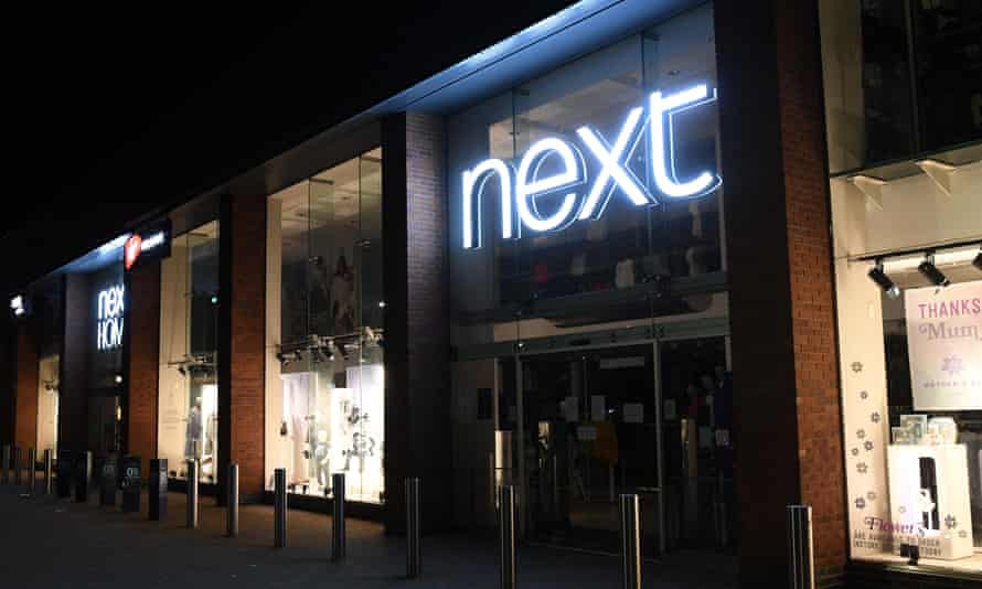 Closed Next store at Riverside retail park in Northampton