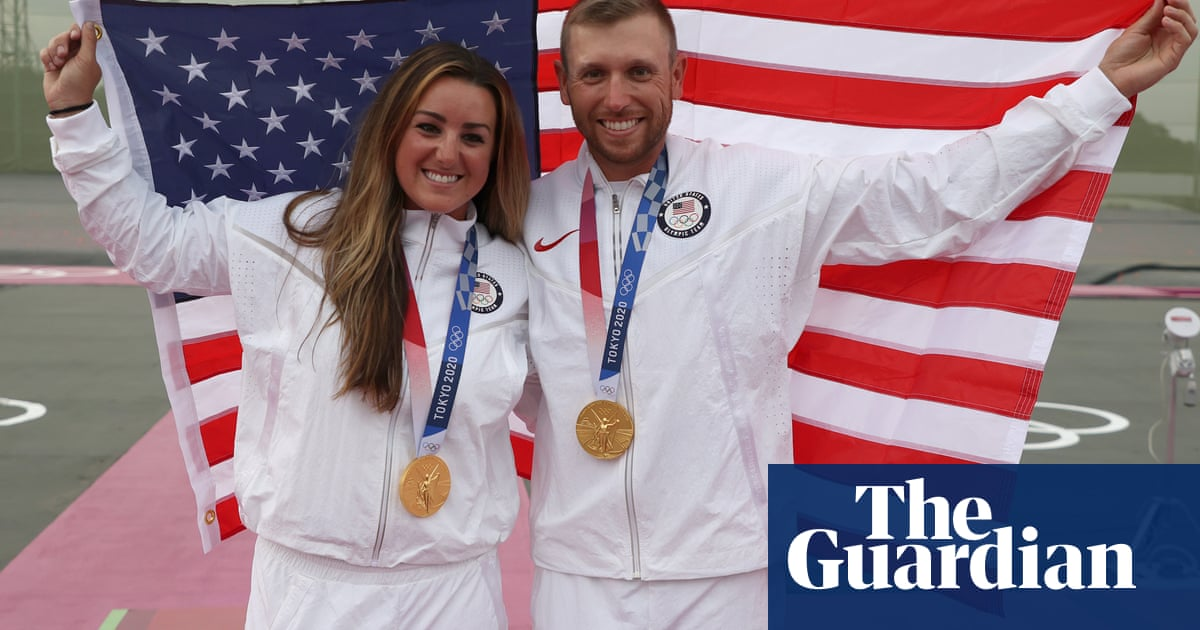 Gun rights and gold medals: US shooters sweep the skeet in Tokyo