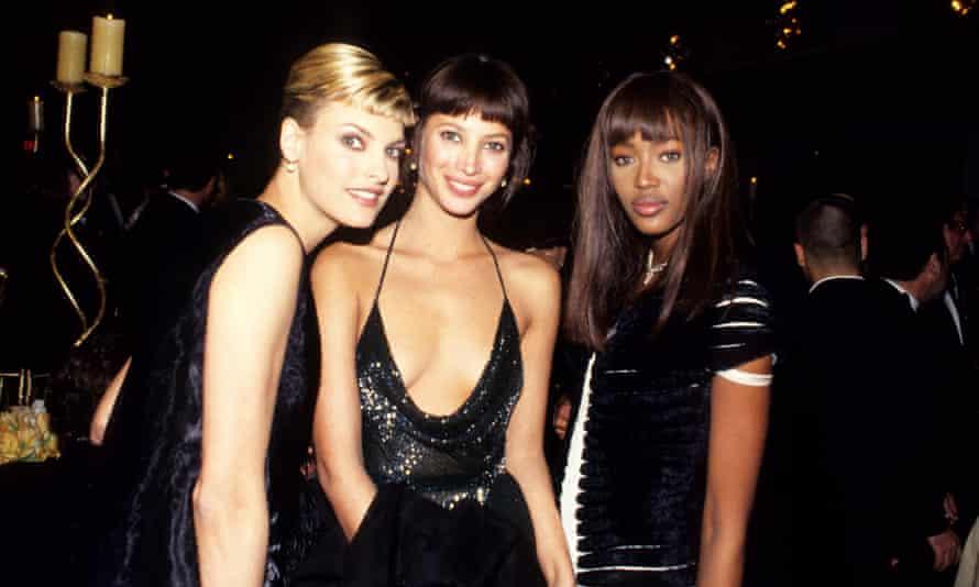 Linda Evangelista, Christy Turlington and Naomi Campbell in 1994