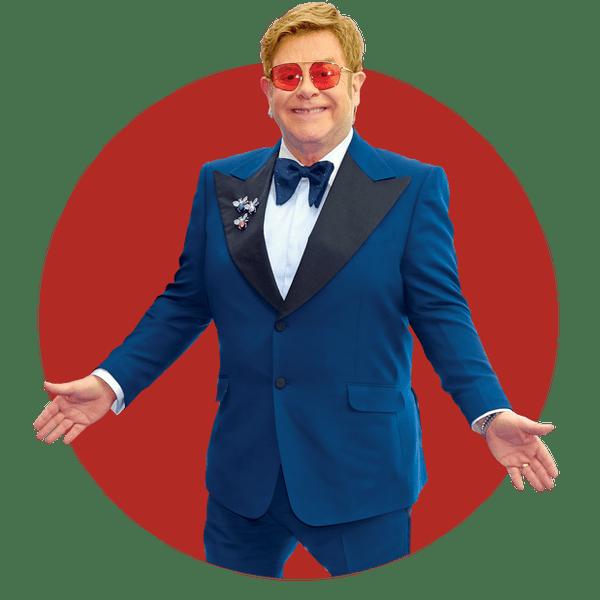 Scholarship material: Sir Elton John.