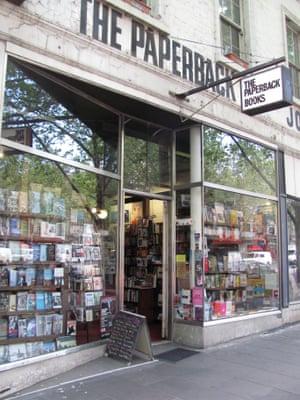 The Paperback Bookshop in Melbourne
