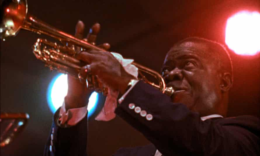 Charismatic performances ... Louis Armstrong in Jazz on a Summers Day.