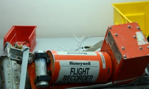 One of the two black boxes of the A321 that crashed in Sinai Peninsula killing all 224 people on board