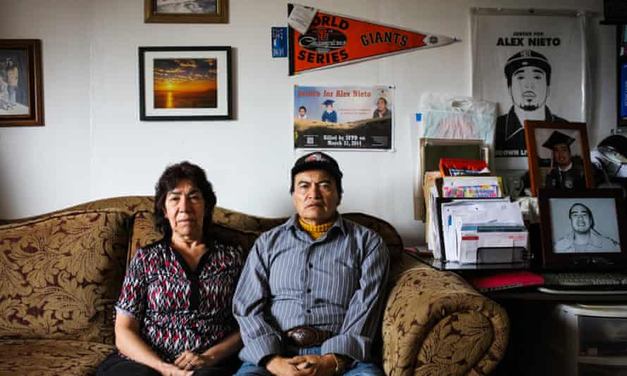 Elvira and Refugio Nieto want justice for their dead son Alex.