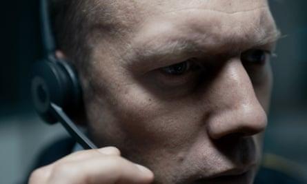 Jakob Cedergren in The Guilty.