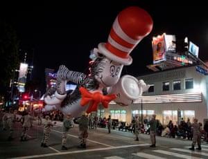 A Dr Seuss balloon