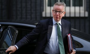 Michael Gove, who was education secretary at the time the 'Trojan horse' story broke.