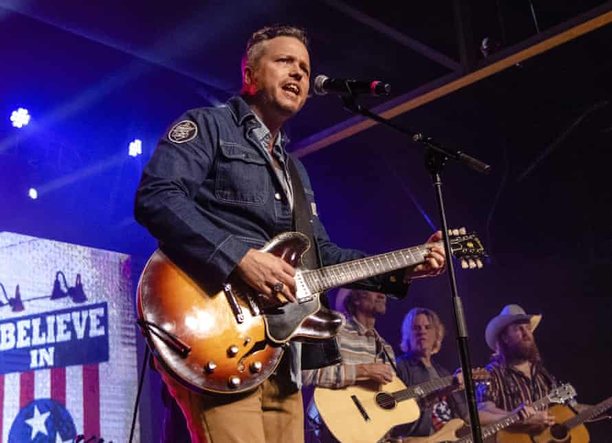 Jason Isbell performing in March.