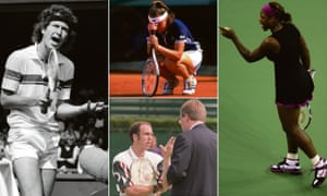 John McEnroe, Martina Hingis, Serena Williams and Jeff Tarango have forgotten their manners from time to time.