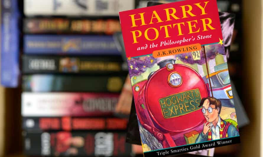 Harry Potter and the Philosopher's Stone by JK Rowling, paperback title