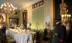 The dining room at Huis Doorn.