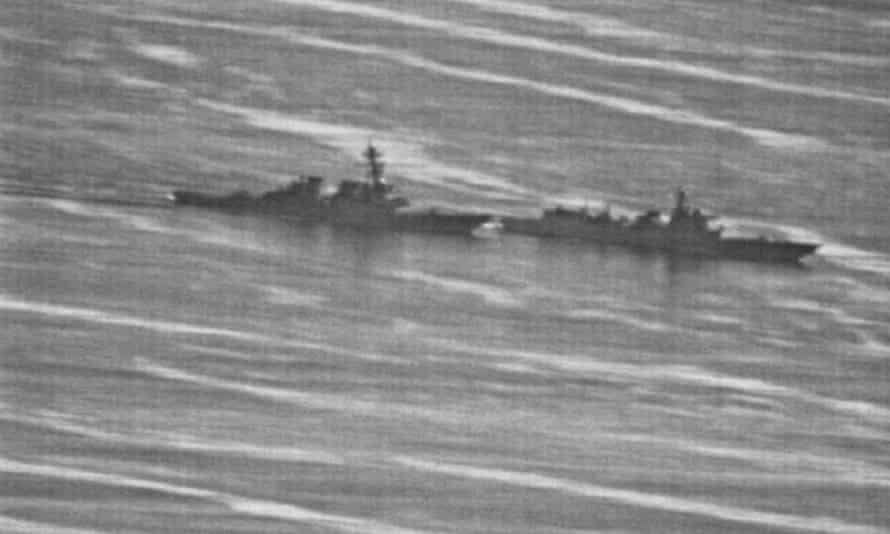 A confrontation between the USS Decatur and a Chinese navy warship in South China Sea on 30 September.