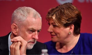 Emily Thornberry and Jeremy Corbyn