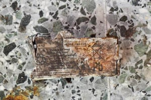 An image of what is believed to be the battery, released by the New York Times.