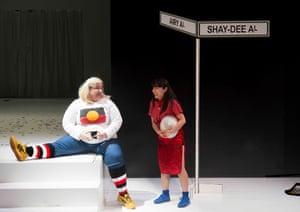 Bessie Hollan and Emi Canavan in Blaque Showgirls