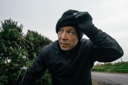 Snarling star … as undercover officer John Corbett in Line of Duty.