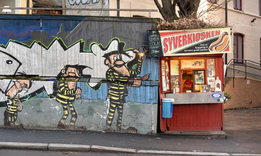 Erlend Dahlbo's Syverkiosken hotdog kiosk is the last of its kind in Oslo