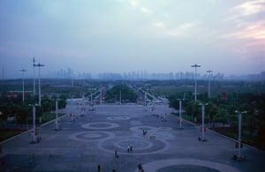 City of Wuhan, China.