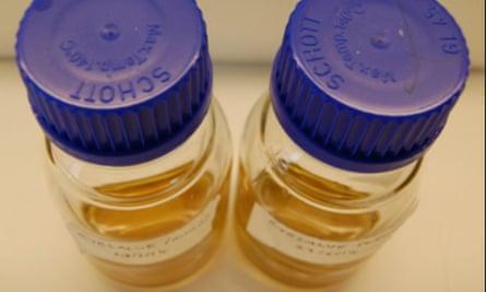 Bald's eyesalve in bottles