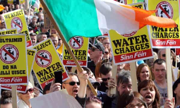 Dublin water protests