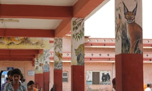 Sawai Madhopur railway station.