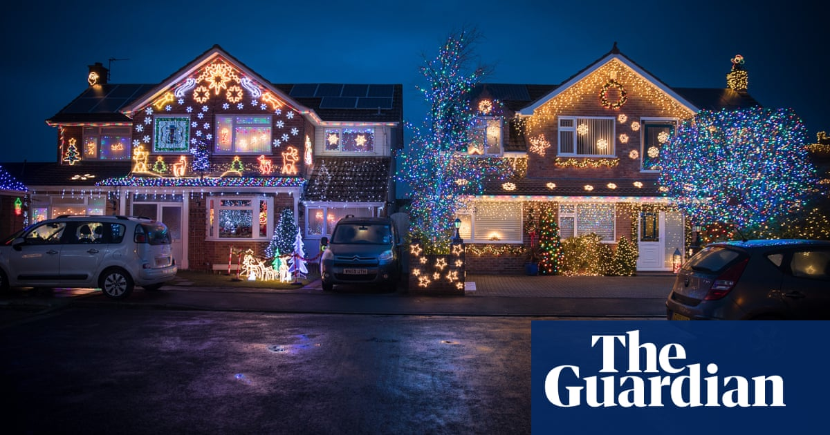 Christmas House Decoration.The Most Festive Houses In Britain In Pictures Life And