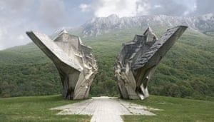 This Memorial Monument Complex commemorates The Battle of Sutjeska in the Valley of Heroes.