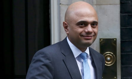 Sajid Javid says more people are living in private rented accommodation.