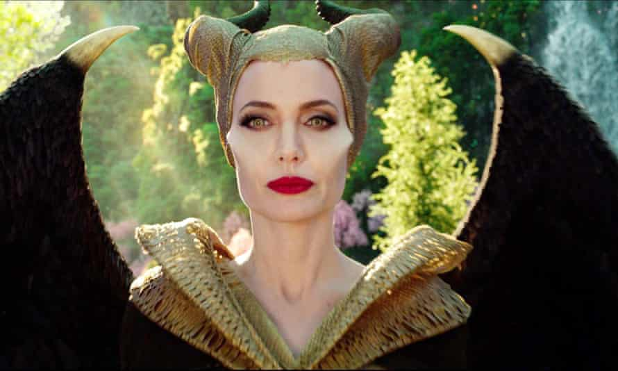 Angelina Jolie in Malificent: Mistress of Evil.