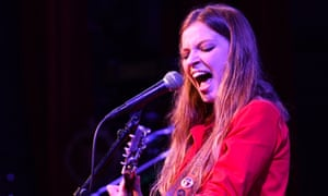Jade Bird performing in Nashville, Tennessee