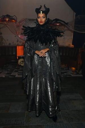 2019 Halima Aden as Maleficent