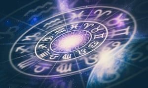 Signs of the zodiac on a universe background