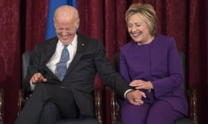 Joe Biden was considered by the head of the Democratic National Committee as a replacement for Hillary Clinton.