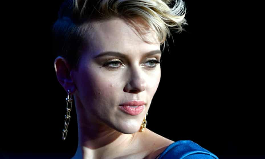 Scarlett Johansson at the premiere of Ghost in the Shell in Tokyo.