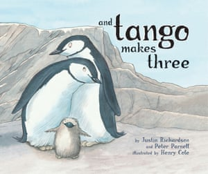 Cover of and Tango Makes Three, by Justin Richardson and Peter Parnell