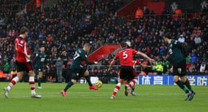 Burnley's Matej Vydra makes space for himself before scoring his side's second goal.