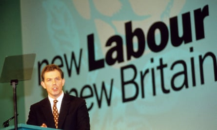 Tony Blair, the architect of New Labour