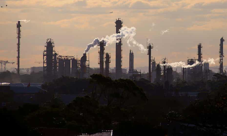 A chemical plant in Sydney