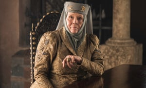 Diana Rigg as Olenna Tyrell in Game of Thrones