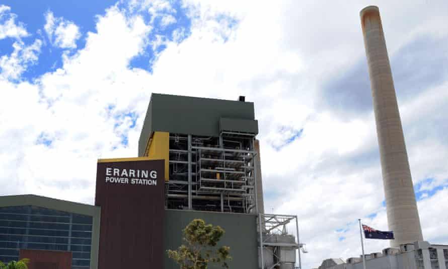 The Eraring Power Station at Lake Macquarie